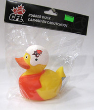 B.C. LIONS CFL BATHTUB RUBBER DUCK