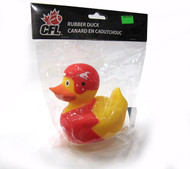 CALGARY STAMPEDERS CFL BATHTUB RUBBER DUCK