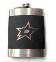 DALLAS STARS  NHL LASER ENGRAVED STAINLESS STEEL FLASK