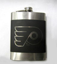 PHILADELPHIA FLYERS  NHL LASER ENGRAVED STAINLESS STEEL FLASK
