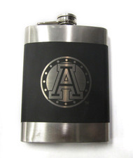 TORONTO ARGONAUTS CFL LASER ENGRAVED STAINLESS STEEL FLASK