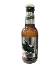 SAN JOSE SHARKS - NHL HOCKEY - BOTTLE COIN BANK
