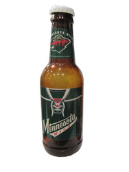 MINNESOTA WILD - NHL HOCKEY - BOTTLE COIN BANK
