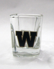 WINNIPEG BLUE BOMBERS - CFL FOOTBALL - SQUARE SHOT GLASS