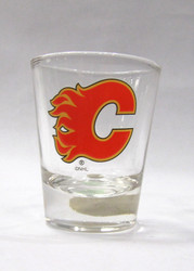 CALGARY FLAMES - NHL HOCKEY - SHOT GLASS