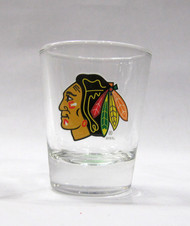 CHCIAGO BLACKHAWKS - NHL HOCKEY - SHOT GLASS