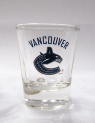 VANCOUVER CANUCKS - NHL HOCKEY - SHOT GLASS