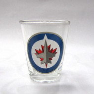 WINNIPEG JETS - NHL HOCKEY - SHOT GLASS