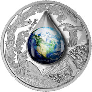 2016 $20 FINE SILVER COIN MOTHER EARTH  ►SOLD OUT FROM RCM◄