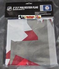 WINNIPEG JETS POLYESTER FLAG  - 3 X 5 FEET - INDOOR/OUTDOOR - BRAND NEW