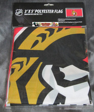 OTTAWA SENATORS POLYESTER FLAG  - 3 X 5 FEET - INDOOR/OUTDOOR - BRAND NEW