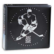 3-INCH D-RING BINDER - HOCKEY - TOP DOG