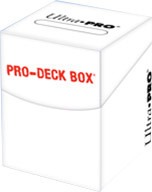 DECK BOX - 100 CARD - WHITE