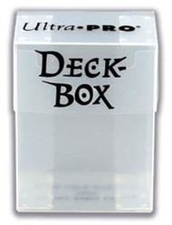 DECK BOX - CLEAR