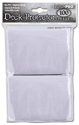 DECK PROTECTOR - STANDARD - 100 SLEEVES - CLEAR