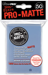DECK PROTECTOR - STANDARD - 50 SLEEVES - PRO MATTE CLEAR