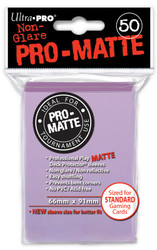 DECK PROTECTOR - STANDARD - 50 SLEEVES - PRO MATTE LILAC