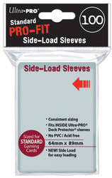 DECK PROTECTOR - STANDARD PRO FIT SIDE LOAD - 100 SLEEVES
