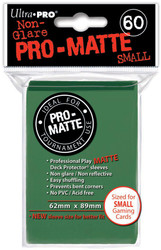DECK PROTECTOR - SMALL - 60 SLEEVES - PRO MATTE GREEN