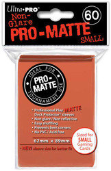 DECK PROTECTOR - SMALL - 60 SLEEVES - PRO MATTE PEACH