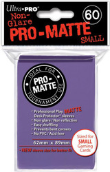 DECK PROTECTOR - SMALL - 60 SLEEVES - PRO MATTE PURPLE