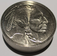 INDIAN HEAD 1 POUND TITANIUM ROUND