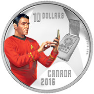 2016 $10 FINE SILVER COIN STAR TREK™: SCOTTY