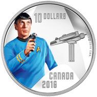 2016 $10 FINE SILVER COIN STAR TREK™: SPOCK