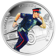 2016 $15 FINE SILVER COIN NATIONAL HEROES: POLICE