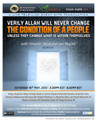 Verily Allah Will Never Change The Condition of A People Unless They Change What Is Within Themselves by Shaykh 'Abdullah an-Najmi
