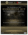 The Dangers Of The Haddadiyyah Sect And Their Opposition To Ahl Sunnah by Shaykh Badr ibn Muhammad al-Badr al-'Anazy
