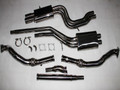 AUDI S4 2.7L TWIN Muffler Turbo-back + TIPTRONIC AUTO Downpipes and Exhaust Catback