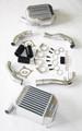 Combo Inlet Pipe Set, B5 Audi RS4 2.7T K04 + 1997-2002 AUDI S4 SMIC B5 QUATTRO 2.7T ALUMINUM BI-TURBO INTERCOOLER