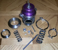 60MM V BAND TURBO WASTEGATE with 8.9 PSI SPRING INSTALLED Purple