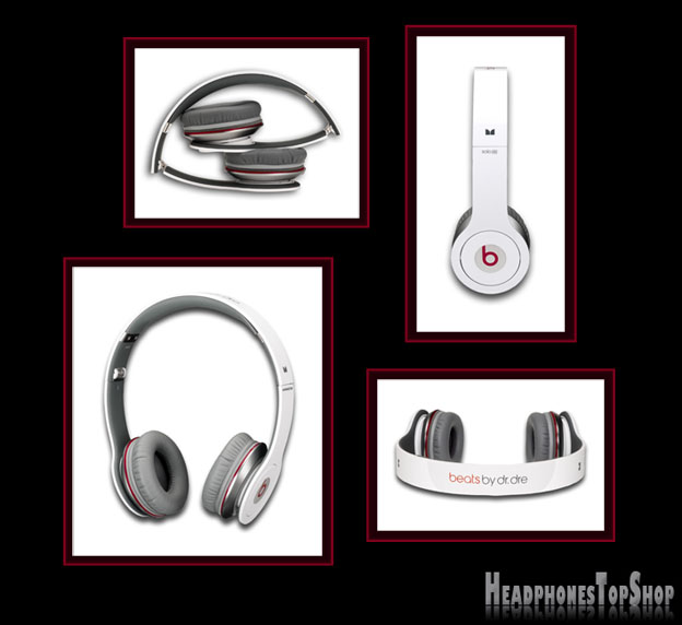 Beat by Dre solo hd white