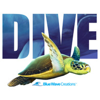 Dive, Sea Turtle Tank Top