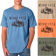 Minnesota Moose Men's/Adult Pigment Dyed T-shirt
