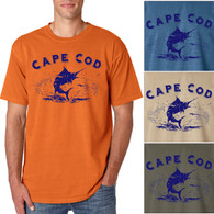 Cape Cod Marlin Men's/Adult Pigment Dyed T-shirt