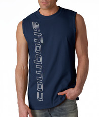 Cowboys Sleeveless Vert Shirt™