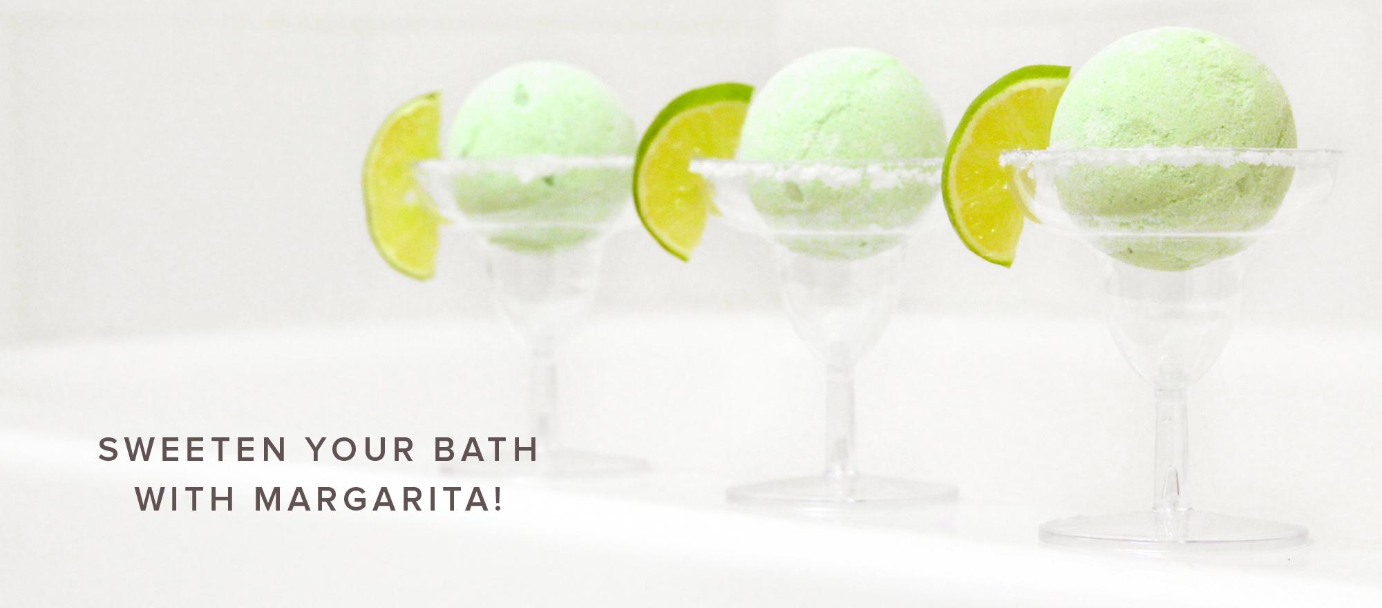 Margarita Bath Bombs