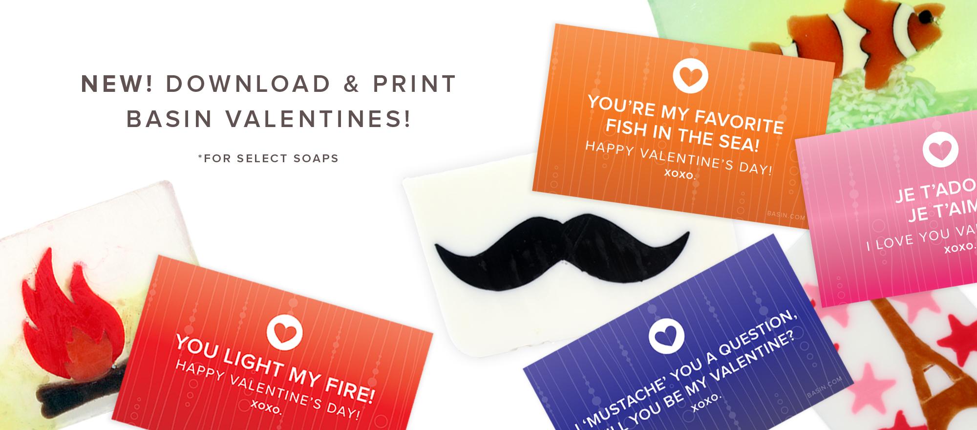 Downloadable Soap Valentines