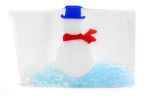 Snowy Soap