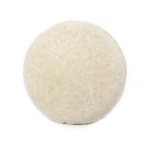 Almond Coconut Shampoo Bar (Basin White)