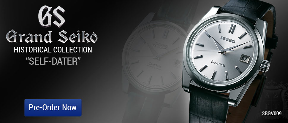 GRAND SEIKO SELF-DATER