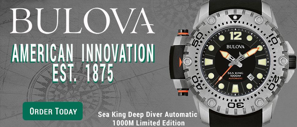 Bulova Sea King Auto Limited Edition