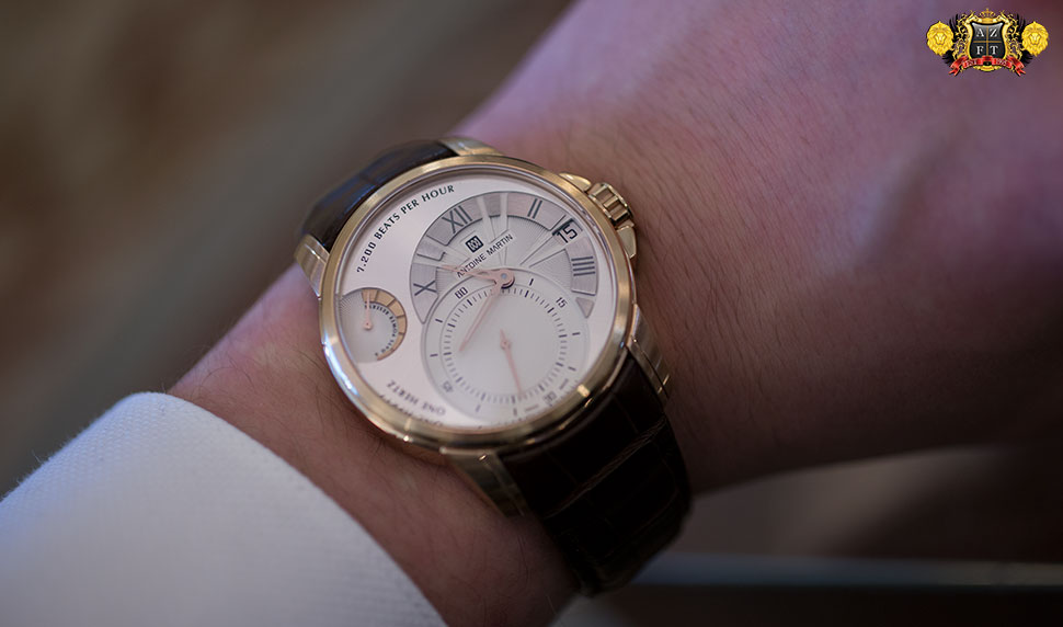 Antoine Martin Slow Runner 18k Rose Gold SR01.710.1