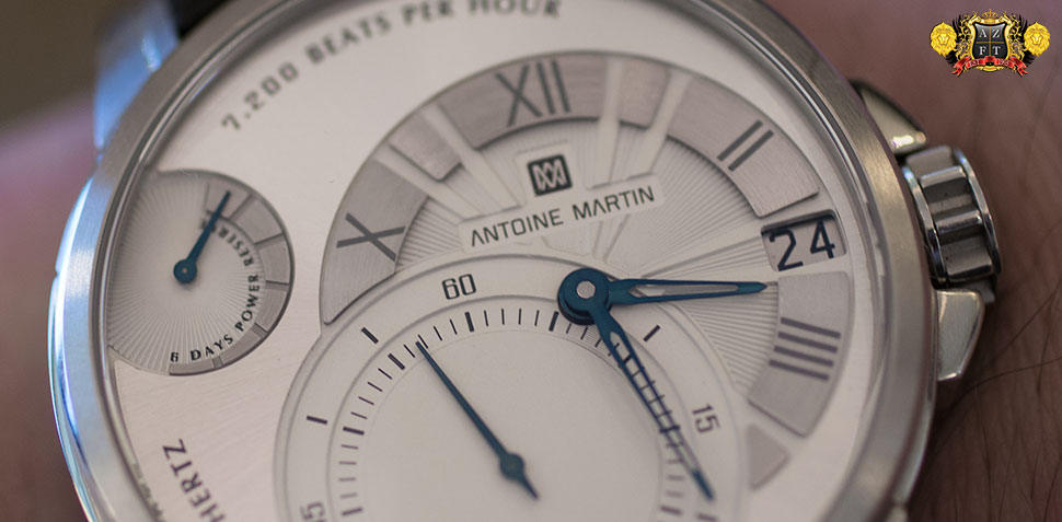 Antoine Martin Slow Runner Stainless Steel SR01.110.1