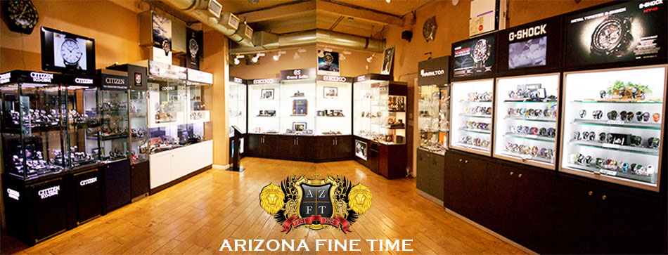 Arizona FineTime watch storefront