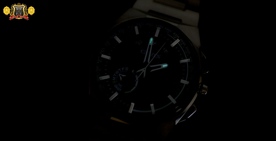 Citizen Satellite Wave F100 CC2006-61E