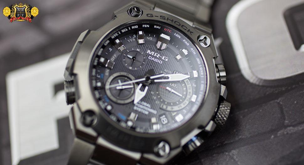 Casio G-Shock MR-G GPS Hybrid Wave Ceptor MRGG1000B-1A